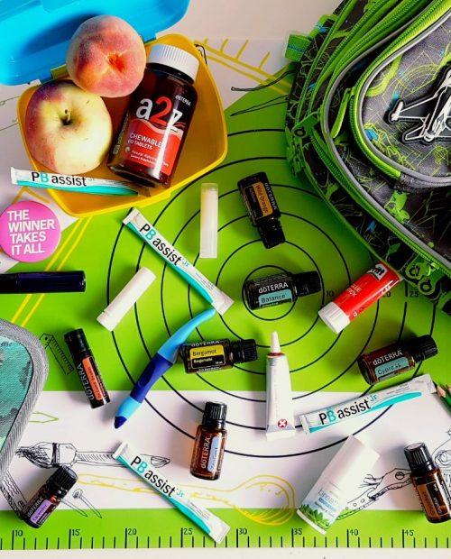 skola s esencialnymi olejmi